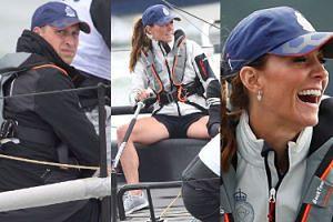 Szczęśliwa Kate i posępny William na regatach King's Cup 2019. Pasują do siebie? (ZDJĘCIA)