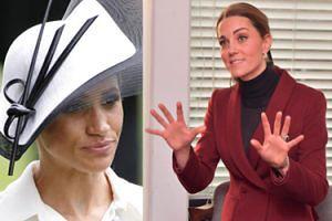 """Kate i Meghan musiały spotkać się na obiedzie u królowej Elżbiety. """"Atmosfera była napięta"""""""
