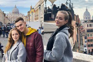 """Gąsiewska i Zdrójkowski spędzili koniec roku w Rzymie. """"Wczoraj tańce hulańce, a dziś zwiedzamy Watykan"""" (ZDJĘCIA)"""