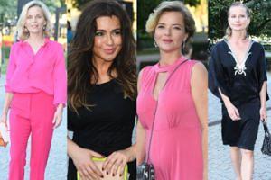 Spęd celebrytów na rozdaniu Kryształowych Zwierciadeł: różowa Foremniak, czarna Tadla i dekolt Cieleckiej (ZDJĘCIA)