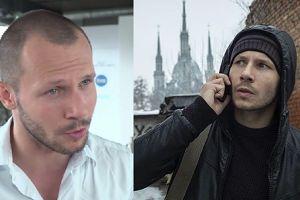 """Mateusz Banasiuk: """"Zostałem aktorem, żeby pracować w serialach"""""""