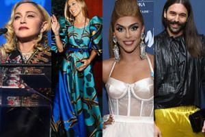 Gwiazdy wspierają społeczność LGBT na gali GLAAD Media Awards 2019: Madonna, Sarah Jessica Parker, Rosie O'Donell, Shangela (ZDJĘCIA)
