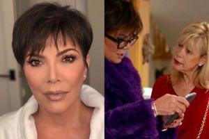 Kris Jenner podarowała swojej najlepszej przyjaciółce... LIFTING TWARZY