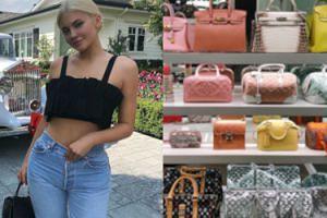 Kylie Jenner pokazała swoją kolekcję torebek wartą MILIONY ZŁOTYCH (FOTO)