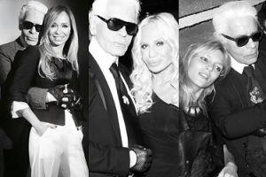 Karl Lagerfeld nie żyje: gwiazdy żegnają legendarnego projektanta (ZDJĘCIA)