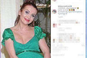 Katarzyna Zielińska walczy o uwagę zdjęciem sprzed lat