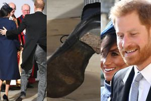 Wpadka księcia Harry'ego na ślubie Eugenii: Przyszedł w zniszczonym bucie! (FOTO)