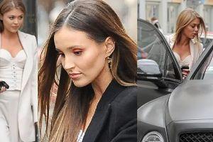 Marina Łuczenko i Joanna Opozda wymieniają serdeczności przy Bentleyu za milion złotych
