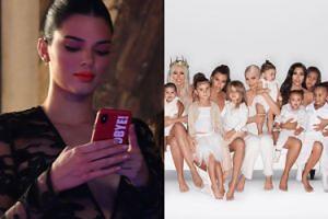 """Kendall Jenner o świątecznej kartce Kardashianów, na której jej zabrakło: """"To niezręczne"""""""