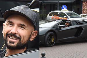 Patryk Vega wozi się Lamborghini za 2,5 miliona! Wygląda jak Batman w batmobilu? (ZDJĘCIA)