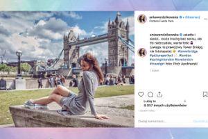 """Ania Wendzikowska """"siedzi & myśli"""" w Londynie"""