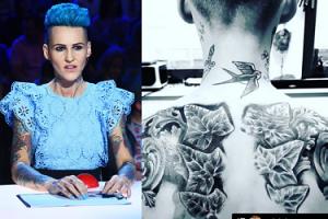 """Chylińska chwali się nowym tatuażem. Fani krytykują: """"Kiedy powiesz sobie dość?"""" (FOTO)"""