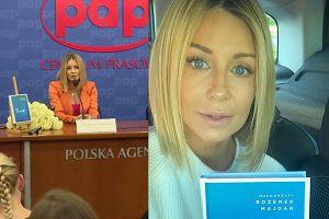 """Małgorzata Rozenek: """"Z przerażeniem obserwujemy, jak bardzo cofa się Polskę"""""""