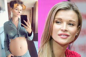 """Joanna Krupa chwali się ciążowym brzuszkiem: """"Belly growing"""""""
