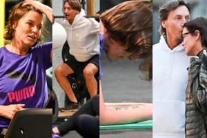 Spocona Ilona Montana ćwiczy z mężem na siłowni (ZDJĘCIA)