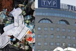 """Internauta pokazał śmieci zostawione w lesie, w których były... dokumenty TVP. """"Zostaną wyciągnięte konsekwencje"""""""