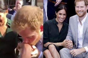 """Książę Harry też ma problem z przestrzeganiem protokołu. Jego """"gest"""" wzbudził zachwyt mediów (WIDEO)"""