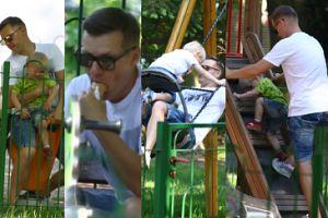 Marcin Mroczek i jego muskulatura zażywają słonecznych kąpieli (DUŻO ZDJĘĆ)