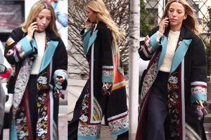 Ewa Chodakowska niczym gejsza spaceruje w kwiecistym kimonie