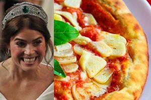 Na weselu księżniczki Eugenii goście jedli... pizzę z budki!