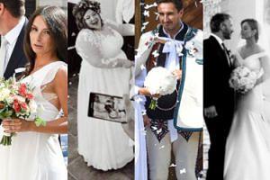Najgorętsze śluby minionego lata: Gwit, Kaczyńska, Krupa... (ZDJĘCIA)