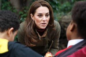 Dzieci zapytały księżną Kate, czy królowa Elżbieta jadła kiedyś pizzę...