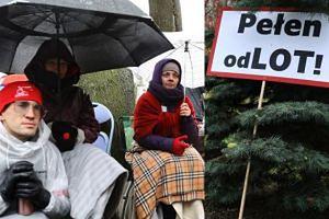 """Protestujący pracownicy LOT-u odcięci od toalet: """"Sytuacja jest patowa. Nie chcemy konfliktu"""""""