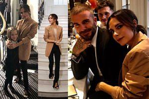 Victoria Beckham z rodziną świętuje DZIESIĘCIOLECIE swojej marki (ZDJĘCIA)