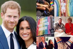 """Meghan Markle i książę Harry wspierają społeczność LGBT: """"Jesteśmy z Wami i wspieramy Was. To bardzo proste: miłość to miłość"""""""