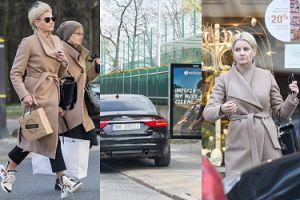 Stylowa Małgorzata Kożuchowska w butach za 4 tysiące łamie przepisy drogowe w imię shoppingu (ZDJĘCIA)