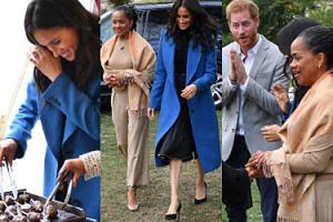 Meghan Markle zabrała mamę i księcia Harry'ego na wspólne gotowanie (ZDJĘCIA)