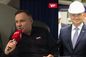 """Andrzej Duda fachowo ocenia: """"Problem smogu polega na paleniu śmieci"""""""