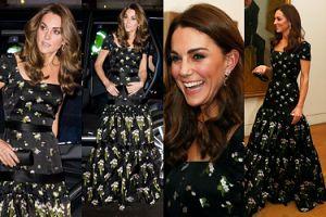 """Oszczędna księżna Kate """"recyklinguje"""" suknię Alexandra McQueena na Portrait Gala 2019 (ZDJĘCIA)"""