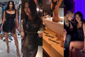 Tak wyglądały 40. urodziny Kourtney Kardashian: tłum celebrytów, morze alkoholu i tort w kształcie nagiej jubilatki (ZDJĘCIA)