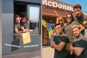 Youtuberzy bawią się w pracę. Udawali pracowników restauracji z fast foodem