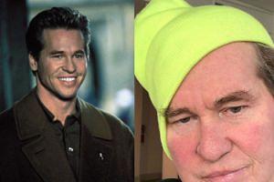 """Zapomniany aktor Val Kilmer krytycznie o sobie: """"Wyglądam jak skrzat"""" (FOTO)"""