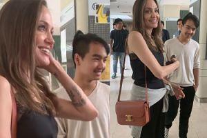 Angelina Jolie przyjechała z Maddoxem na uczelnię i... ZAWSTYDZIŁA SYNA!