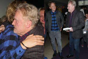Daniel Olbrychski pogodził się z synem. Na premierze książki RZUCILI SIĘ sobie w ramiona