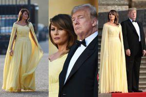 Piękna i Bestia na salonach, czyli Donald i Melania Trump odwiedzili premier Wielkiej Brytanii (ZDJĘCIA)