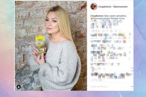 Zamyślona Bujakiewicz chałturzy na Instagramie