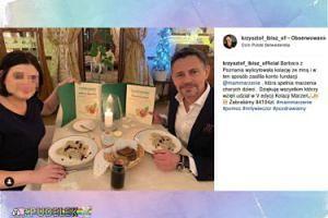 Krzysztof Ibisz na charytatywnej kolacji