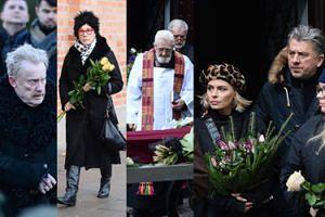 Pogrzeb Zuzanny Łapickiej. Żegnali ją przedstawiciele świata kultury, sztuki i mediów (ZDJĘCIA)