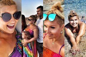 Grecka wyprawa Katarzyny Skrzyneckiej u boku męża i sławnych przyjaciół (ZDJĘCIA)