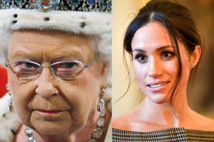 """Królowa Elżbieta strofowała Meghan przed ślubem: """"W tej rodzinie nie rozmawia się z personelem w taki sposób"""""""