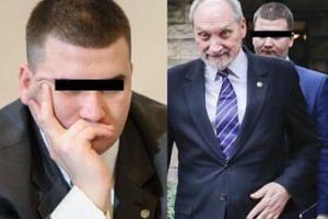 """Macierewicz nadal broni """"Bartłomieja M."""". """"Ojciec Rydzyk za niego poręczył"""""""