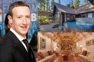 """Mark Zuckerberg zafundował sobie dwa """"domki"""" nad jeziorem! Za równowartość 225 MILIONÓW złotych... (ZDJĘCIA)"""