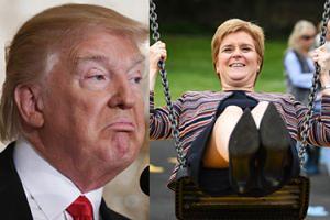 """Premier Szkocji odmówiła spotkania z Donaldem Trumpem! """"Nie czuje się mile widziany"""""""