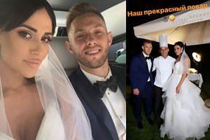 """Maciej Rybus wziął drugi ślub z Laną! """"Kolejny najpiękniejszy dzień w życiu"""""""