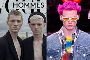 """Polak na okładce francuskiego """"Vogue'a""""! Staś Zienkiewicz wschodzącą gwiazdą modelingu"""