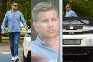 Dumny Filip Chajzer wsiada do swojego luksusowego samochodu za 200 tysięcy (ZDJĘCIA)